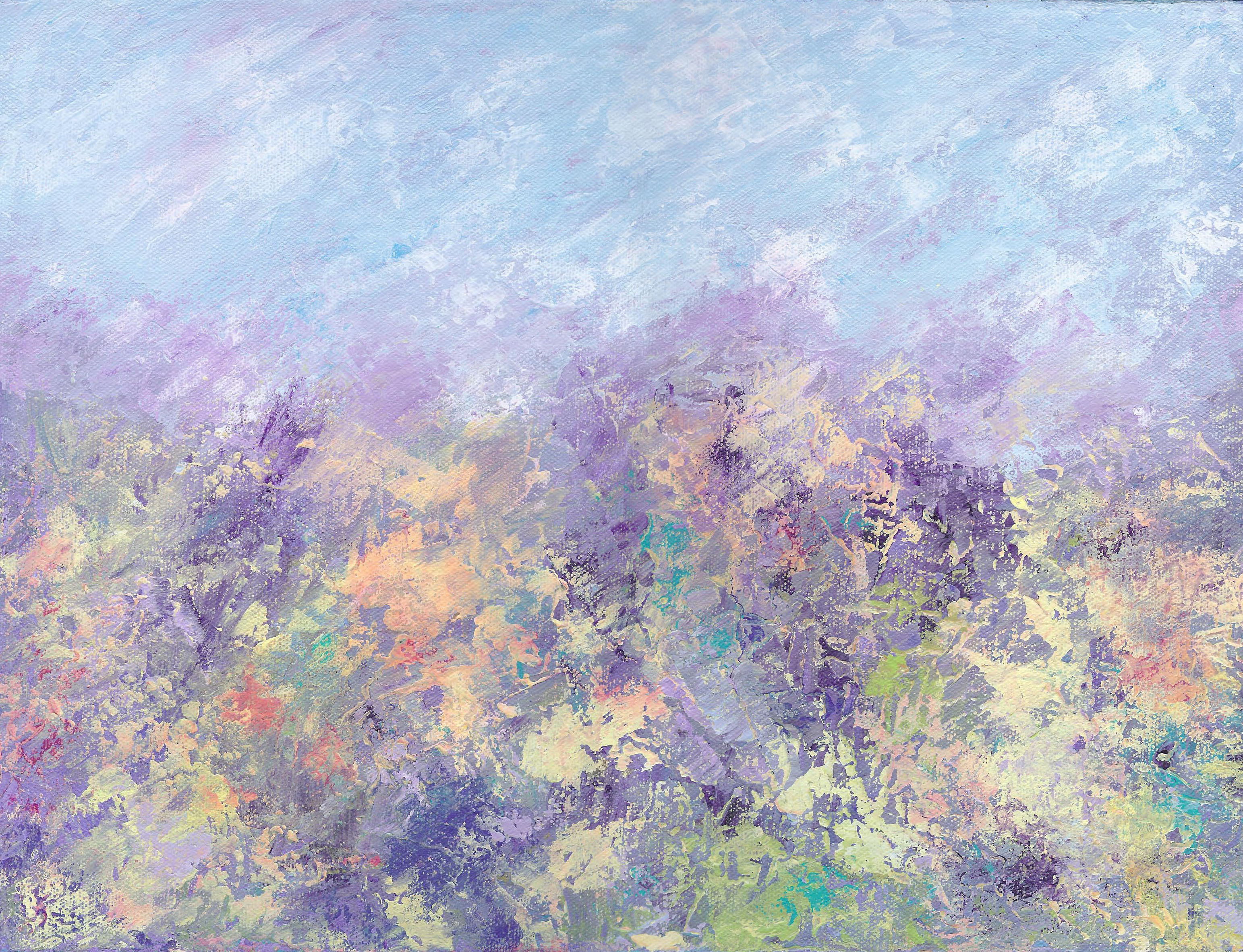 A Spring Day - Acrylic - 12 X 16 - $170