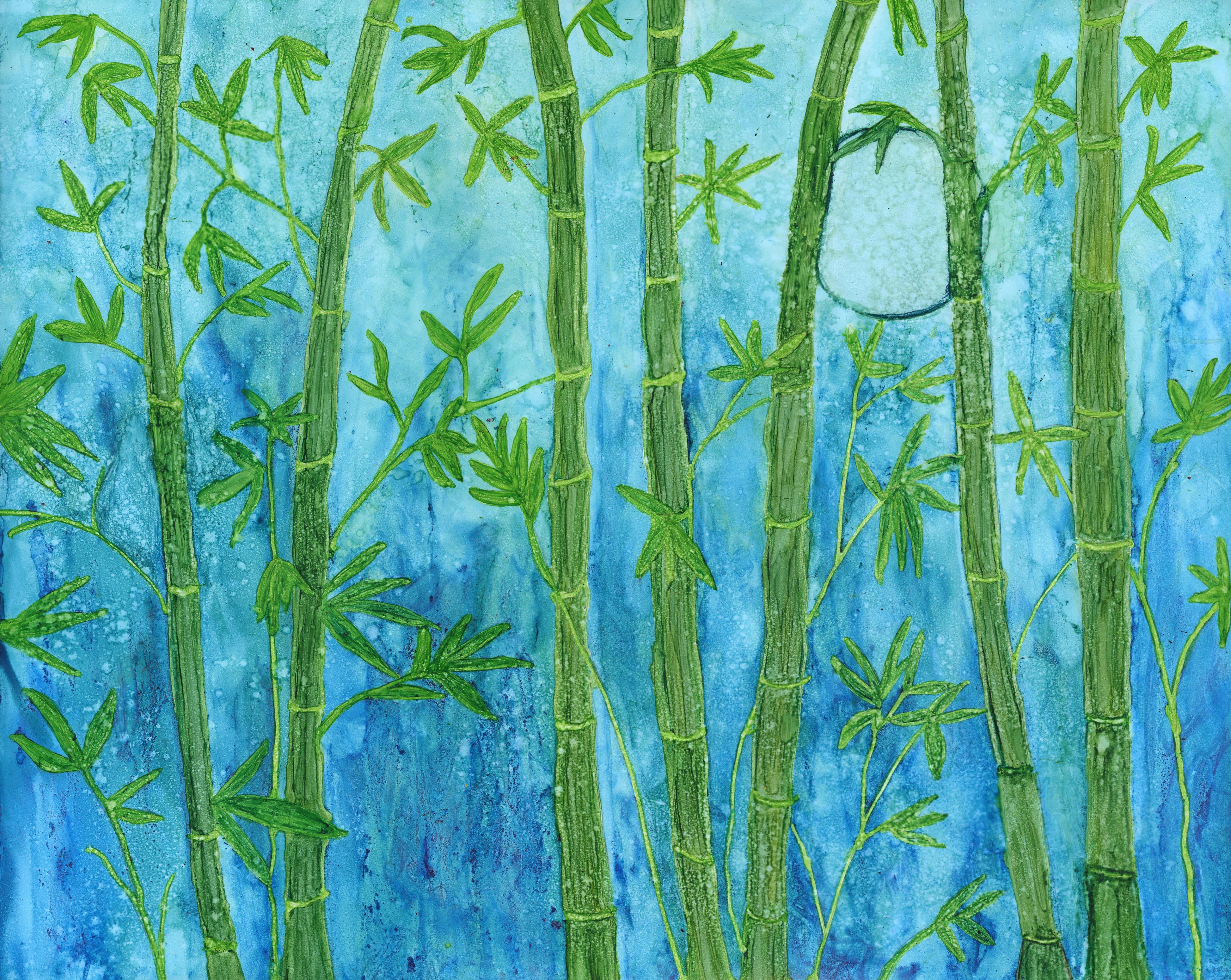 bamboo-moon-alcohol-ink-16-x-20-300