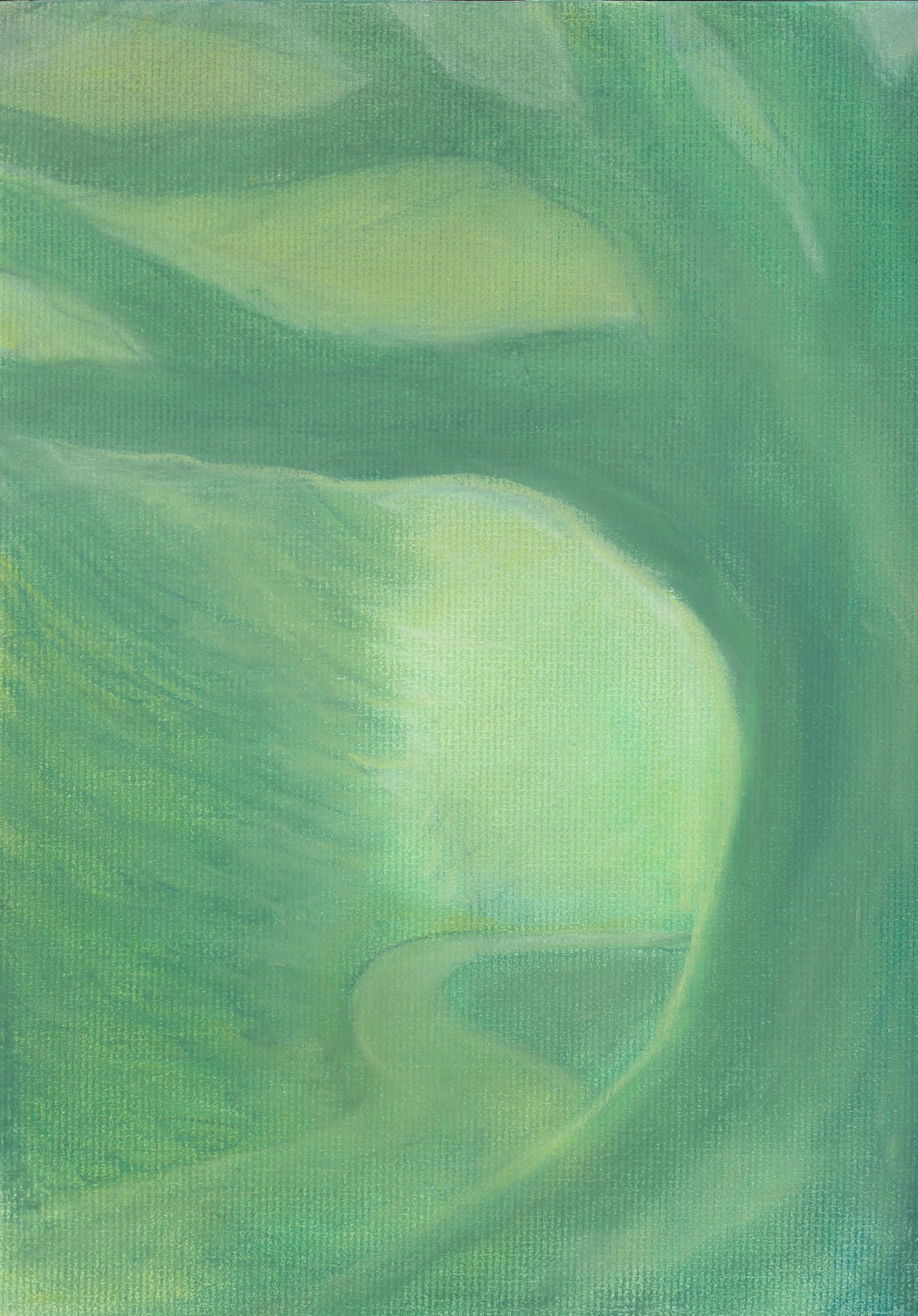 Gone Green - Pastel - 9 X 12 - $125