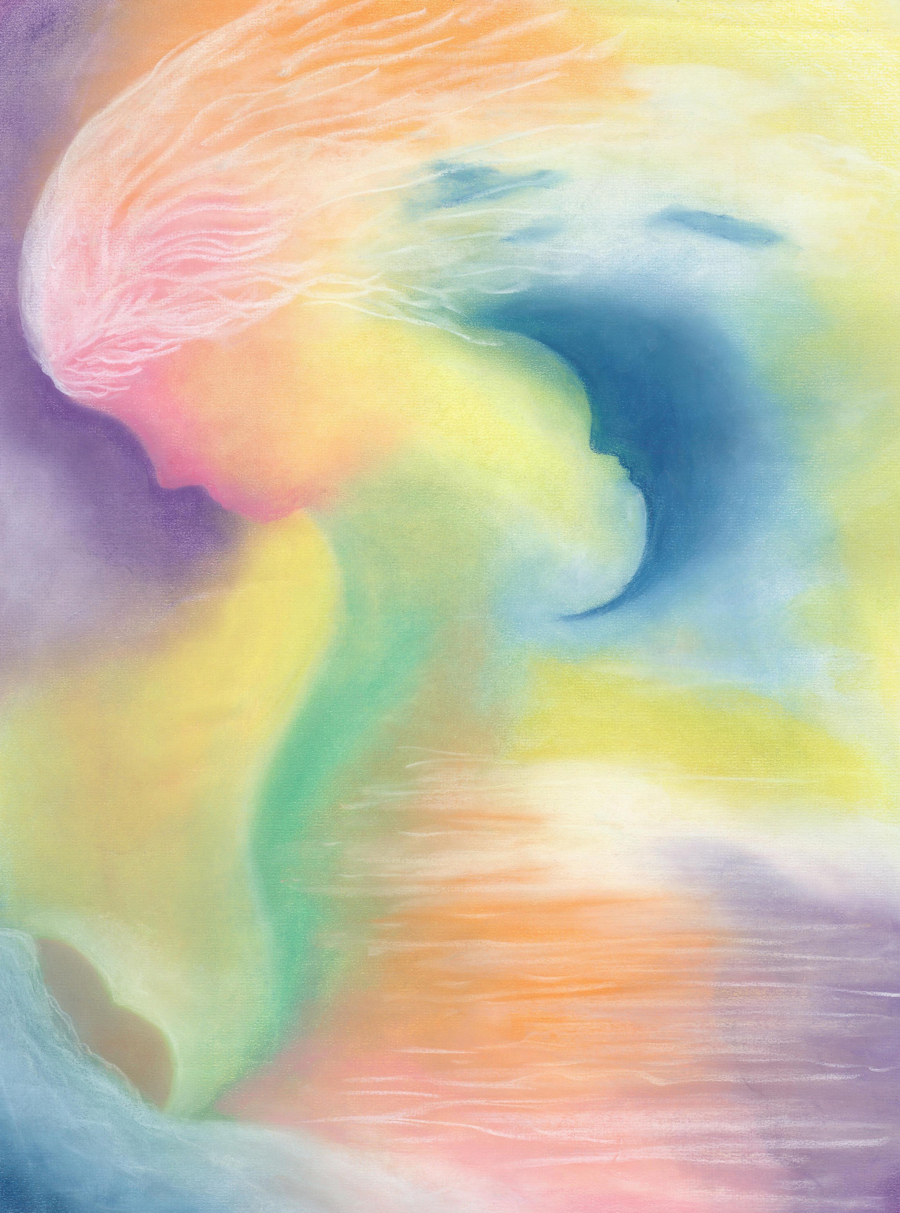 New Life - Pastel 18 X 24 - $350