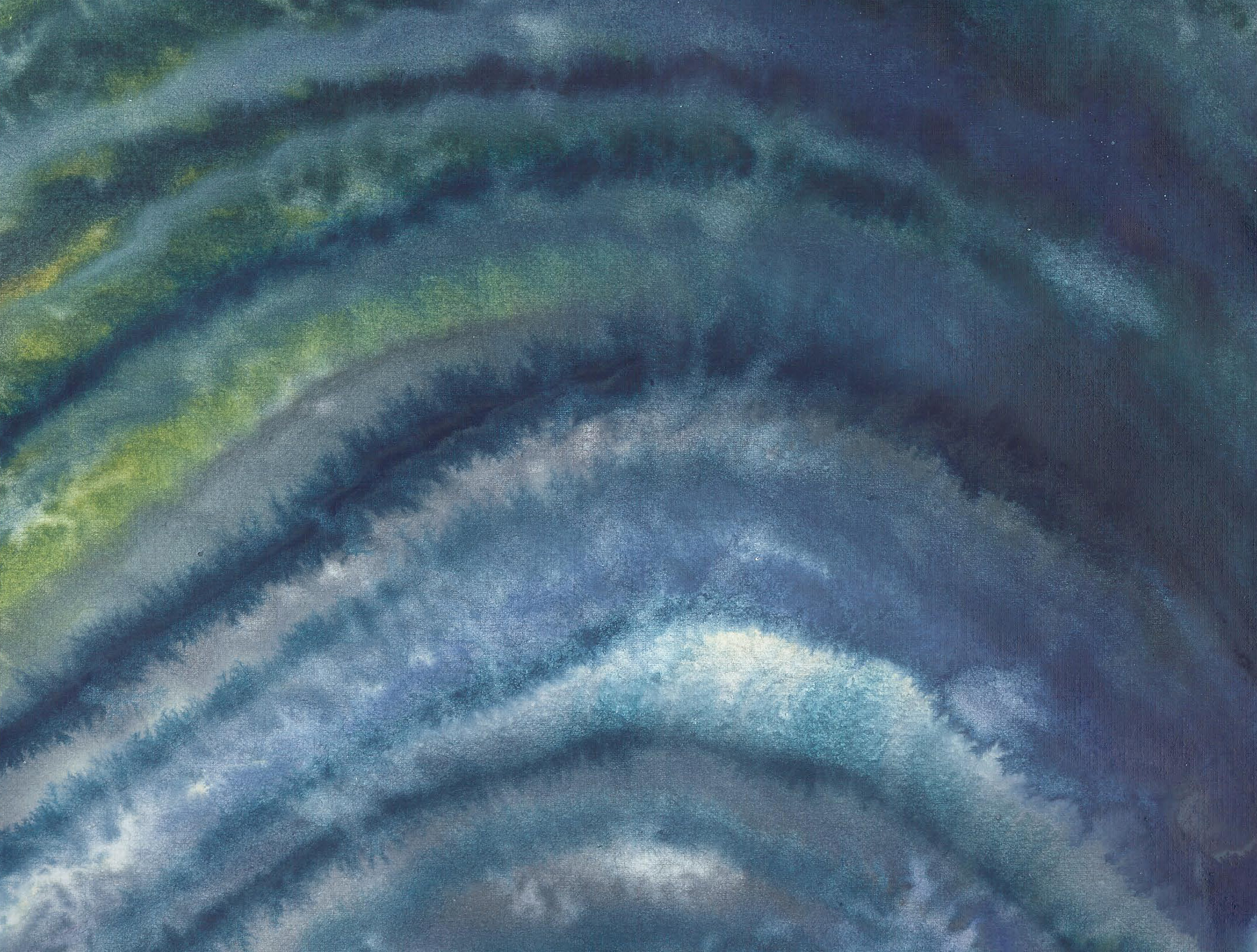 Ripples - Watercolor 8 X 11 - $90