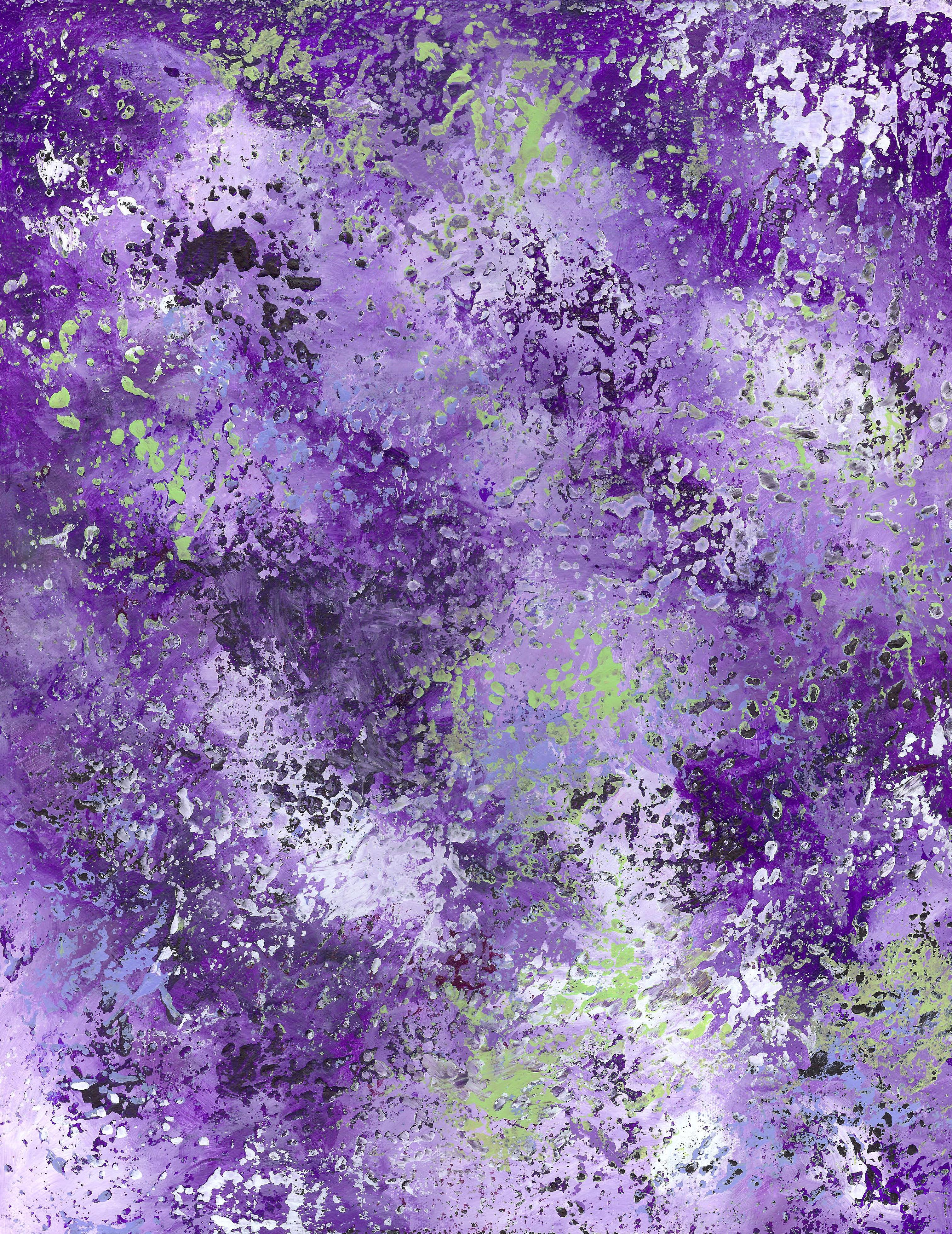 Inner Nebula - Acrylic 16 X 20 - $300