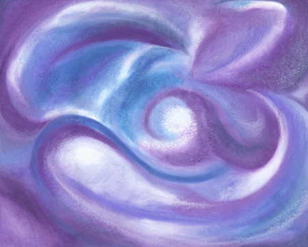 Swirled Colors - Oil Pastel 24 X 30 - $430