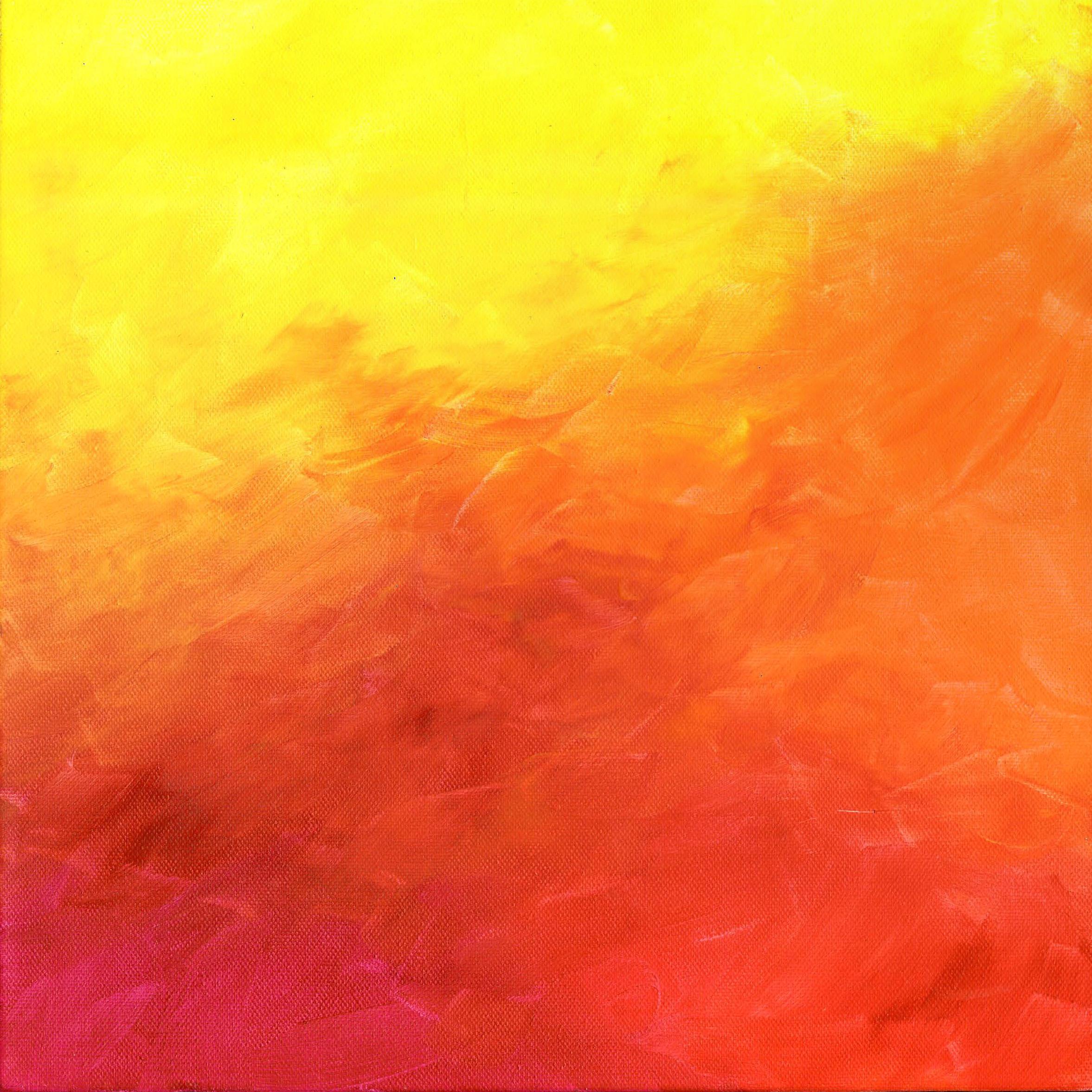 Simply Warm - Acrylic 12 X 12 - $125