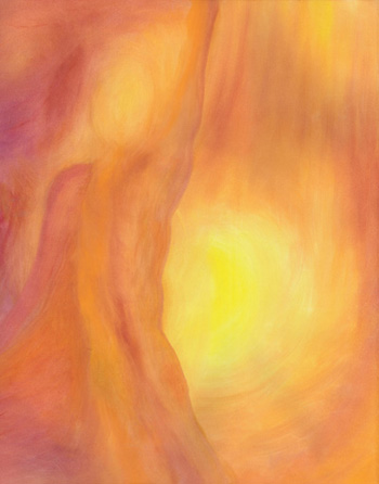 Sun Dance - Watercolor - 20 x 25 - $375