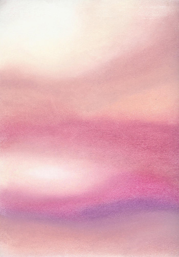Desert Dawn - Pastel 9 x 12 - $80