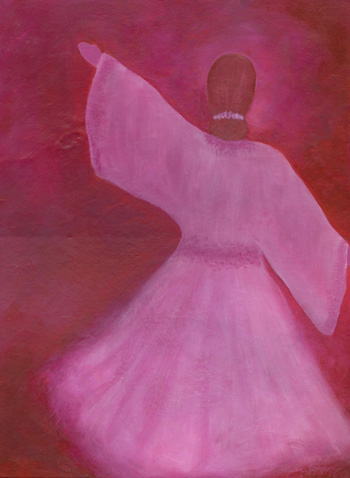 Pretty in Pink - Acrylic 16 x 20 - $275
